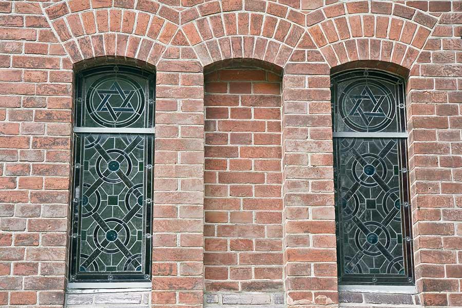 designed leadlight windows