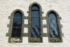 church leadlight window replacements